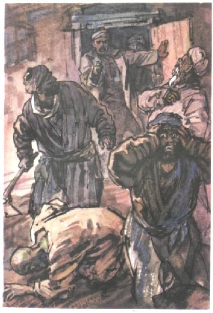 Злая хозяйка бьет раба по яйцах фото 584-582